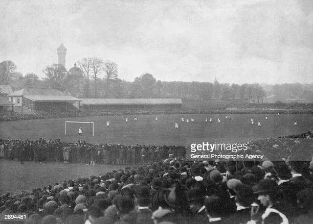 The FA Cup final between Aston Villa and Everton at Crystal Palace