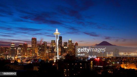 Early Dawn in Seattle