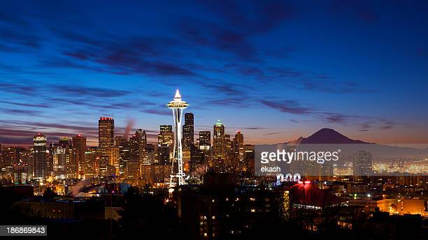 Principios amanecer en Seattle