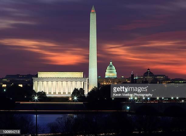 Early Dawn in Washington DC