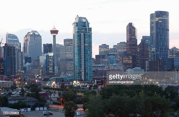 Early Evening Light Calgary Alberta