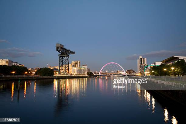 Early Evening on the River Clyde, Glasgow.