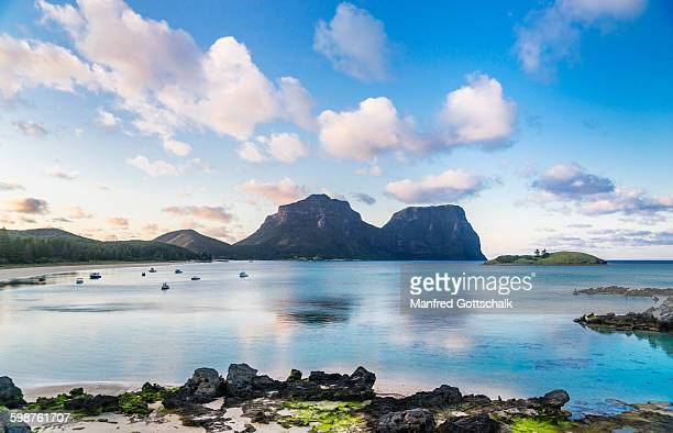 Early morning at Lord Howe Island Lagoon