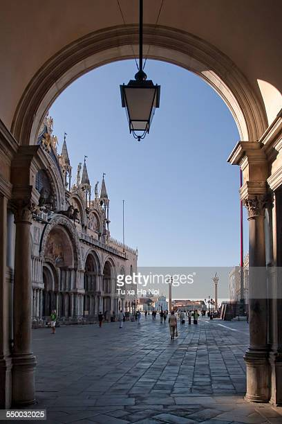 Early morning at Piazza San Marco, Venice