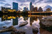 Early Morning, Austin, Texas, America