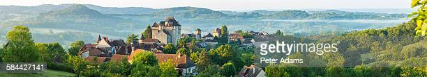 Early morning Curemonte, Correze, Limousin, France