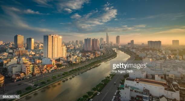 Early morning in Hochiminhcity/Saigon center