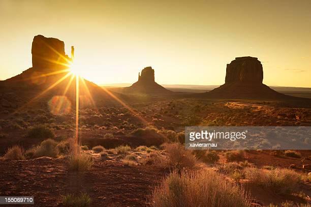 Temprano en la mañana en Monument Valley