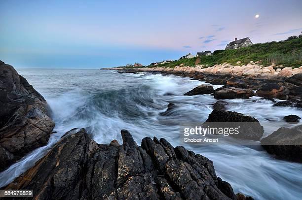 Early morning in Narragansett bay, Rhode Island