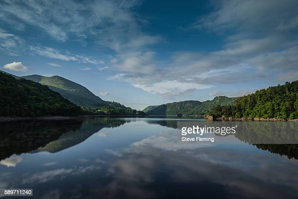 Early morning light at Thirlmere, Cumbria, UK.