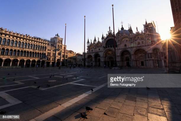 Early morning of Venice, Italy.