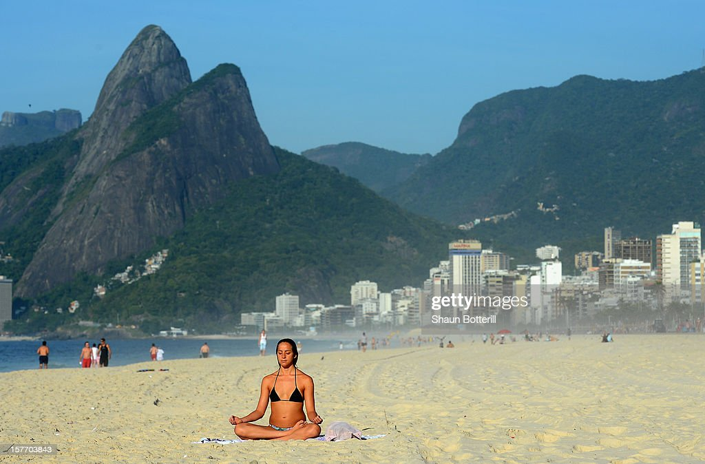 Early morning on Ipanema on December 5, 2012 in Rio de Janeiro, Brazil.
