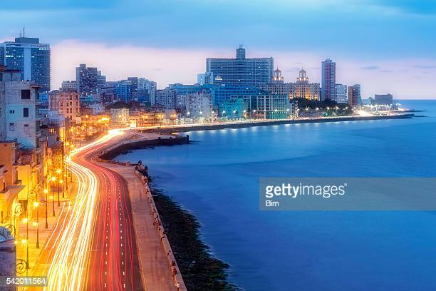 Early Morning Over Malecon, Havana, Cuba