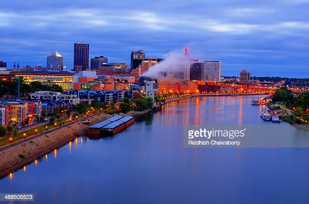Early Morning View of City of St Paul