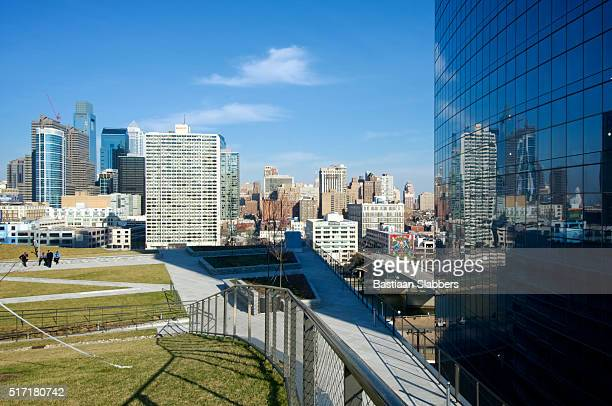 Early Spring at Public Rooftop Park in Philadelphia
