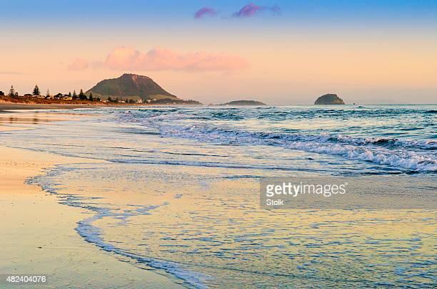 Early Tauranga beach