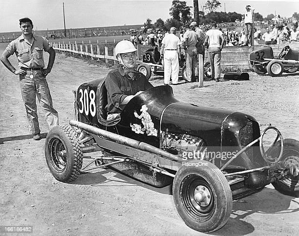 Beautiful Midget race car drivers