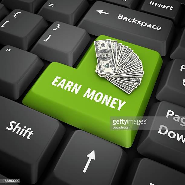 earn money enter key