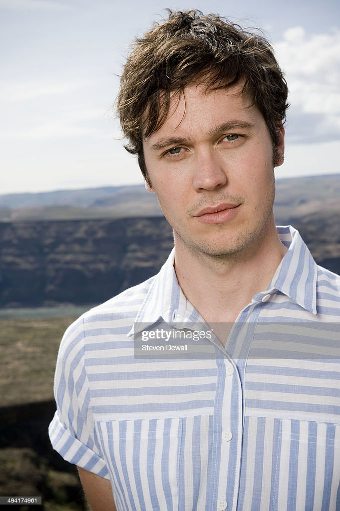 Earnest Green of Washed Out poses for a portrait backstage on day 2 of Sasquatch! Music Festival at the Gorge Amphitheater on May 24, 2014 in George, United States.