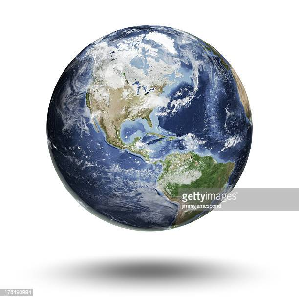 Earth - Americas Western Hemisphere