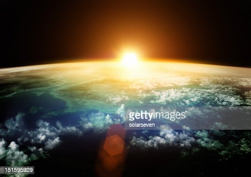 Earth - Beautiful Horizons : Stock Photo