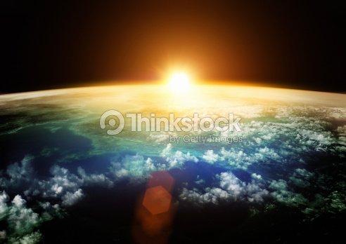 Earth - Beautiful Horizons : Stock Photo