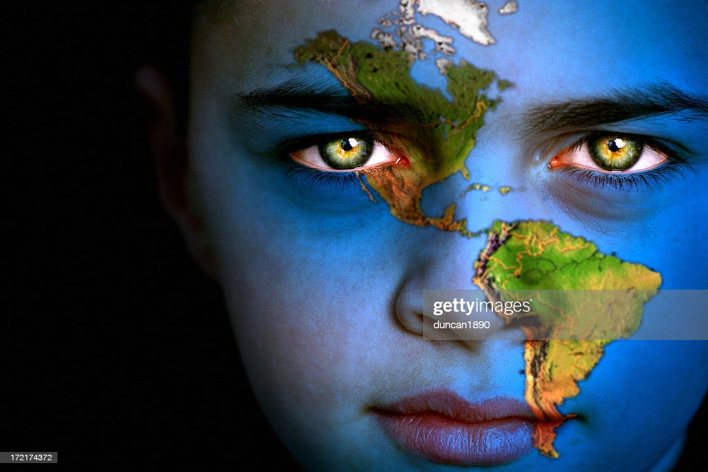 Earth boy - North and South America