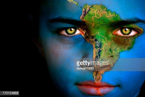 Earth boy - South America