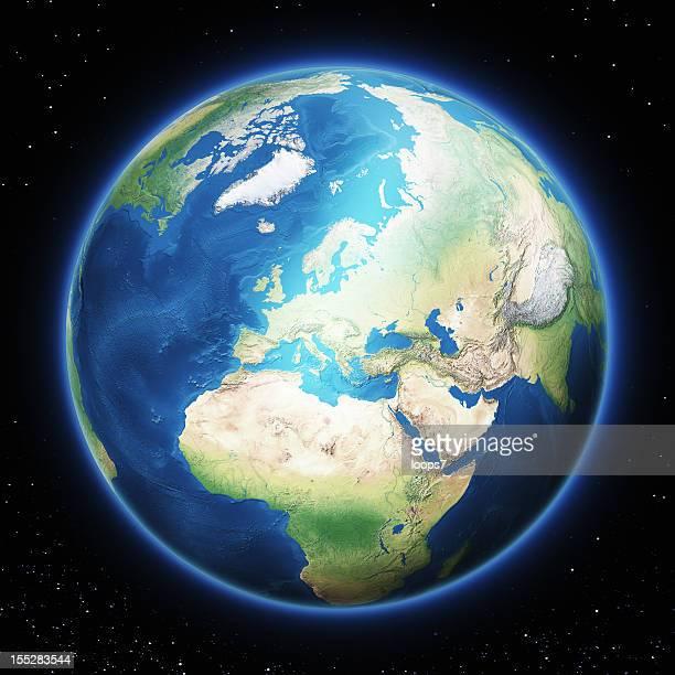 Tierra de Europa