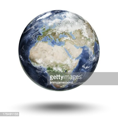 Earth - European Eastern Hemisphere