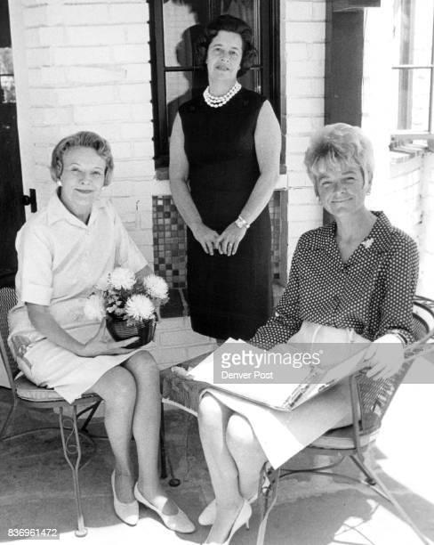 Earth Florin Mrs Groups L to R Mrs Gordon Murray Mrs Arthur Bishop Mrs Florian Barth Credit Denver Post