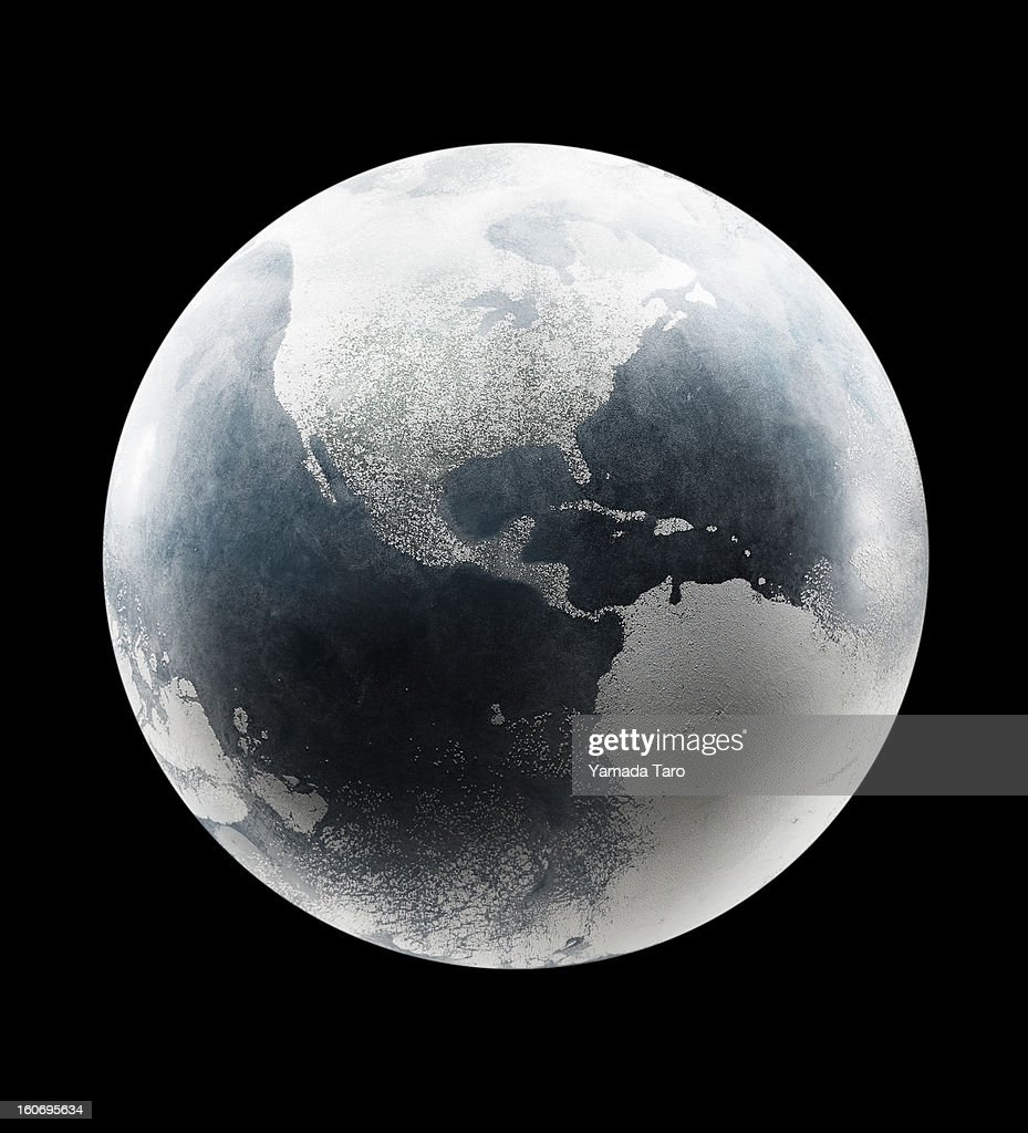 Earth from space : Stock Photo