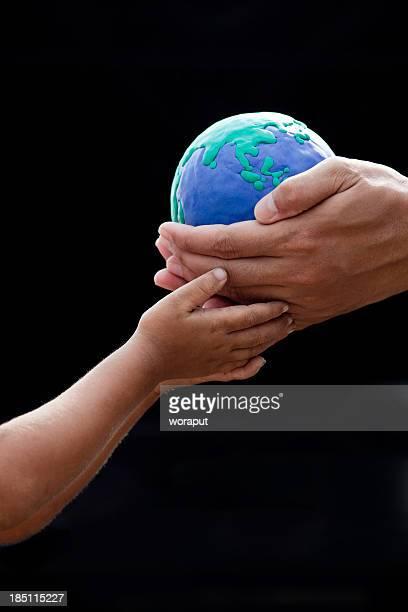 Earth future concept