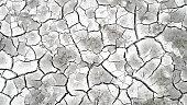 Earth ground crack