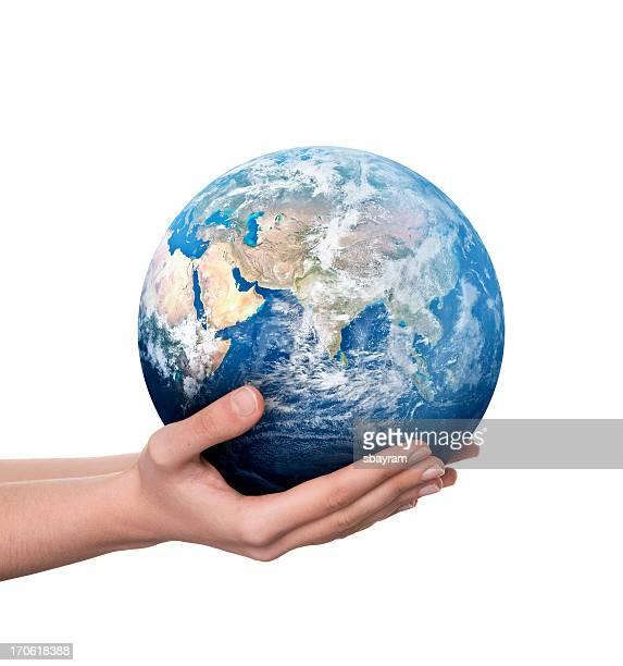 Terra in mano