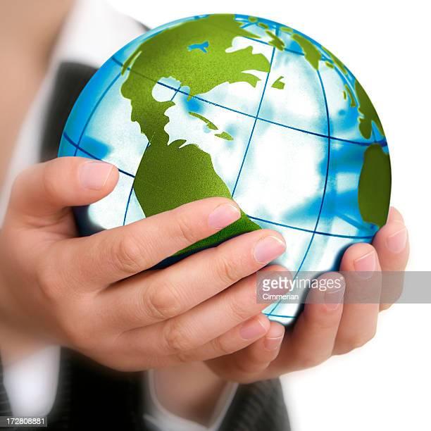Terre dans ma main