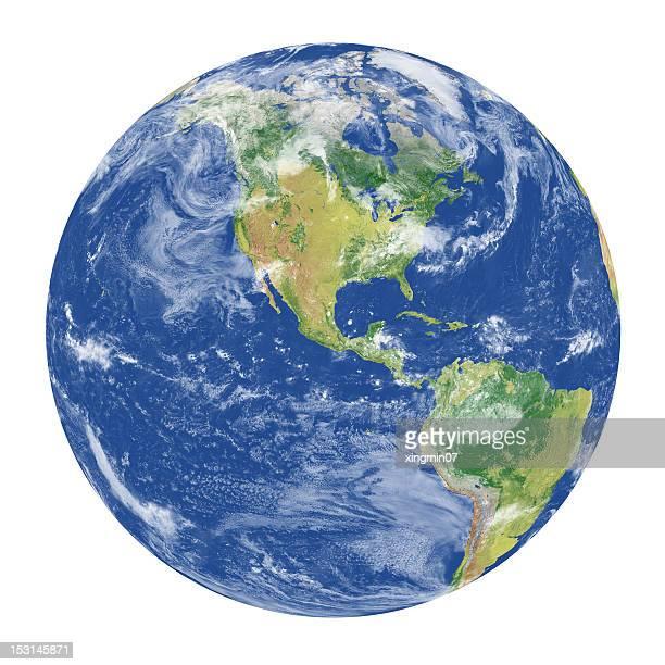 Erde Modell: USA-Blick