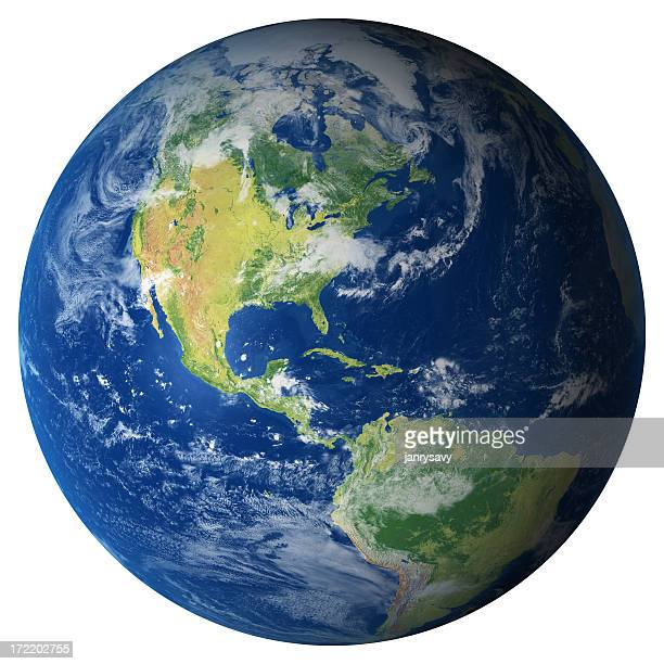 Terra modelo: Vista dos EUA