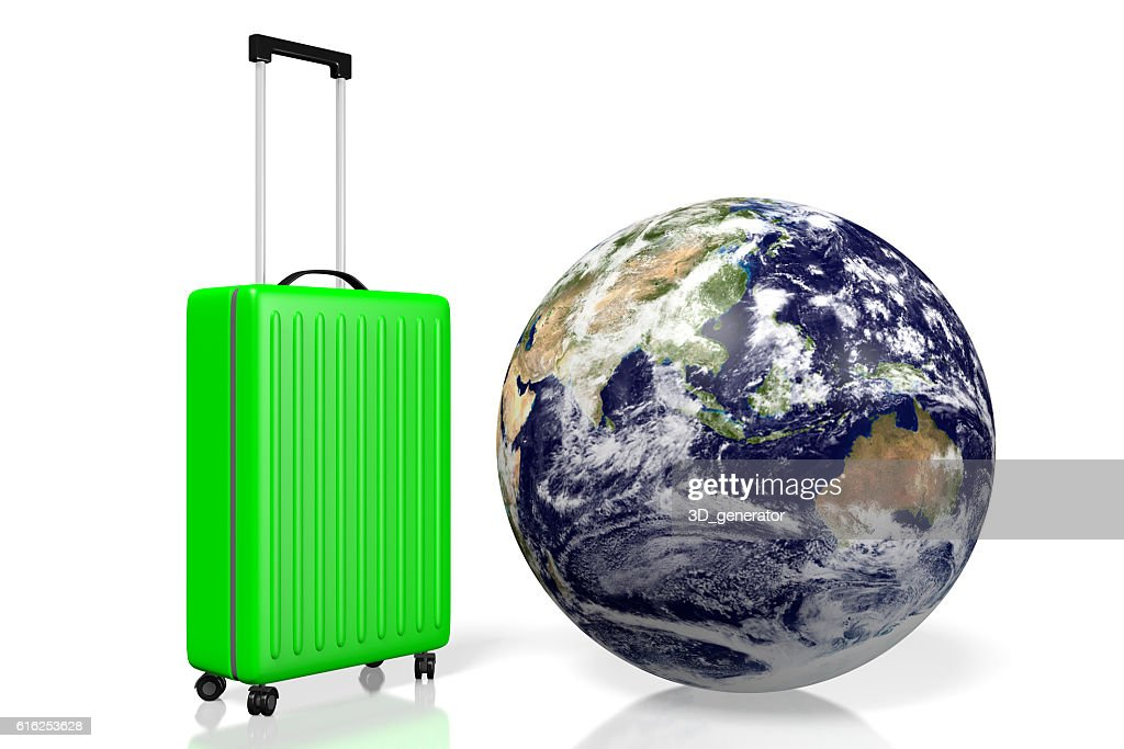 3D Earth, travel concept : Stock Photo