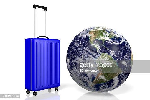 3D Earth, travel concept : Foto de stock
