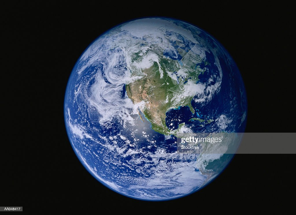 Earth with North America prominent
