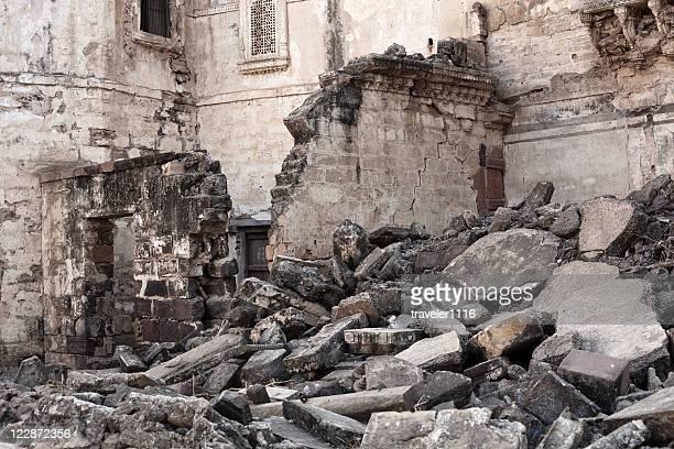 Erdbeben beschädigt von Bhuj, Indien
