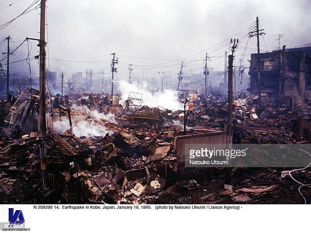 Earthquake in Kobe Japan January 19 1995