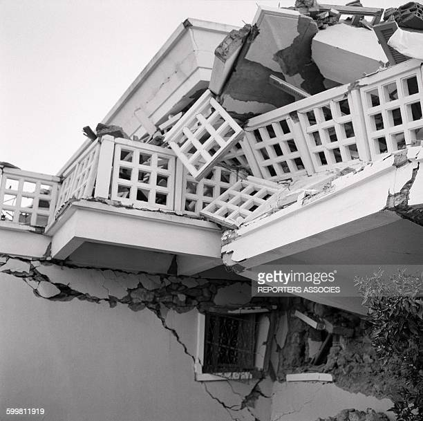 Earthquake in the city of Agadir Morocco in March 1960