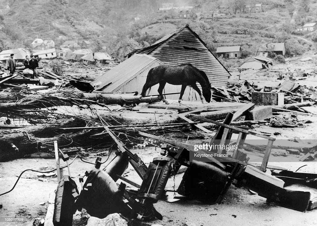 Earthquake In Valdivia In Chile In 1960.