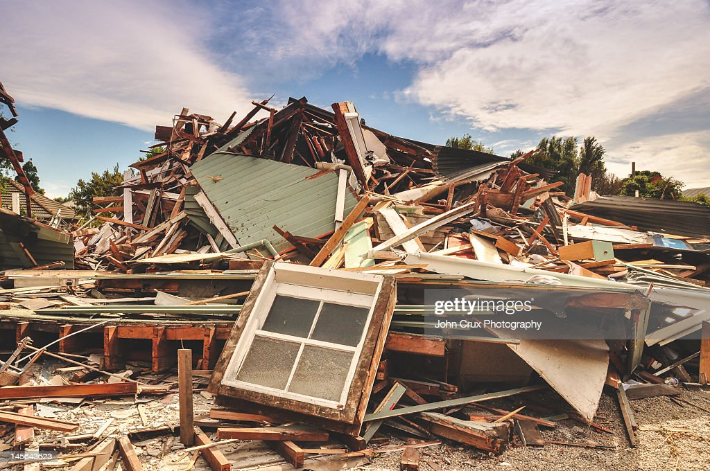 Earthquake : Stock Photo