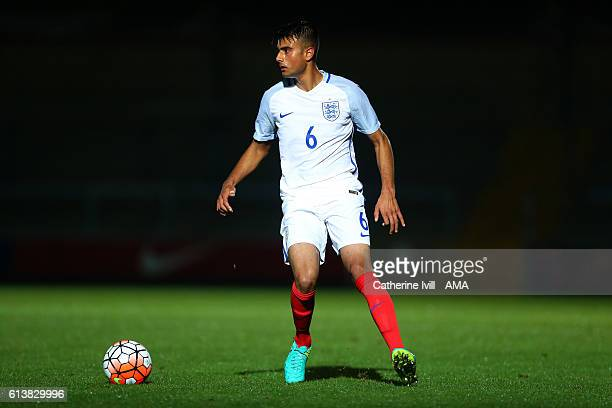 Easah Suliman of England U19 during the U19 International match between England and Bulgaria at Adams Park on October 10 2016 in High Wycombe England