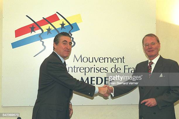 EASeilliere and his German counterpart Olaf Henkel