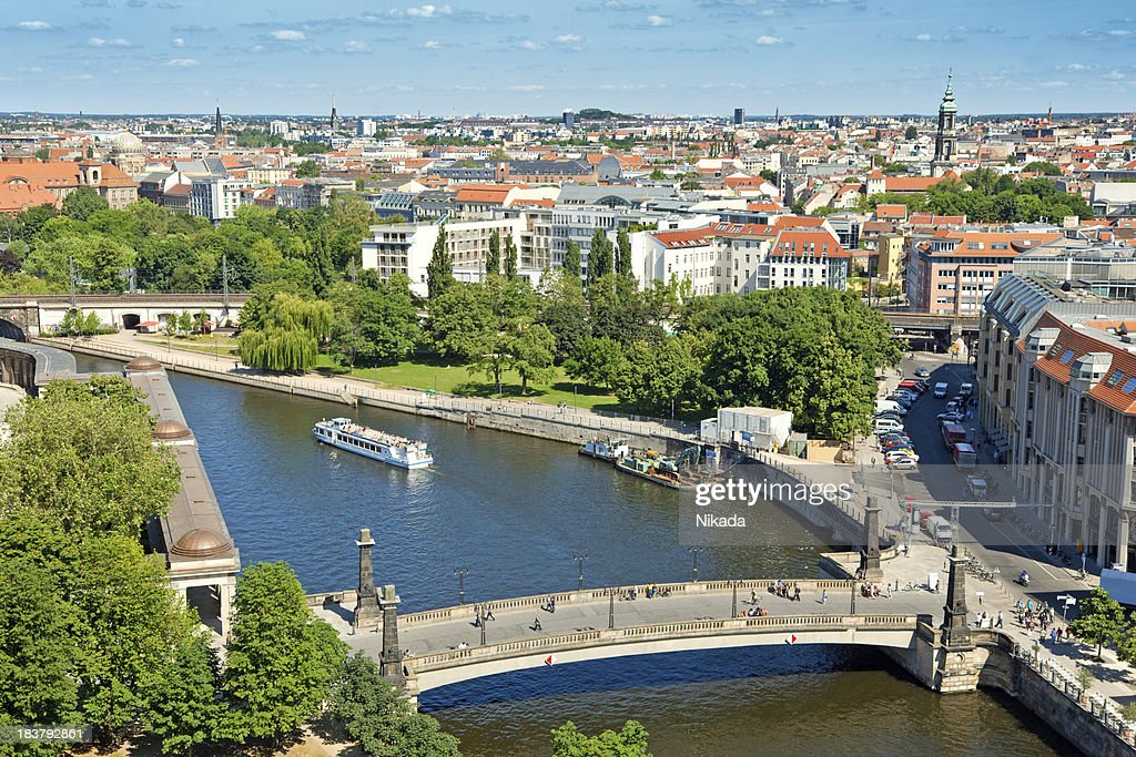 East Berlin with Spree river