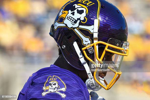 East Carolina Pirates wide receiver Zay Jones looks on in a game between the East Carolina Pirates and the Connecticut Huskies on October 29 2016 at...